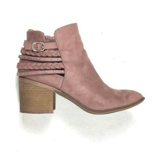Dr. Scholl's suede bootie size 9